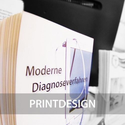 Printdesign - Flyer, Visitenkarten, Broschüren und mehr