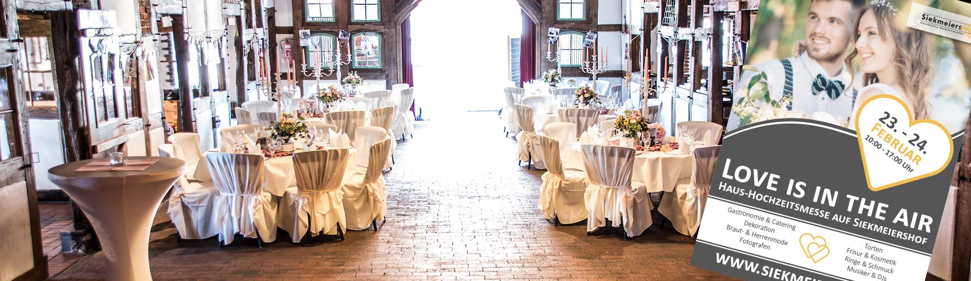Haus-Hochzeitsmesse auf Siekmeiers Hof